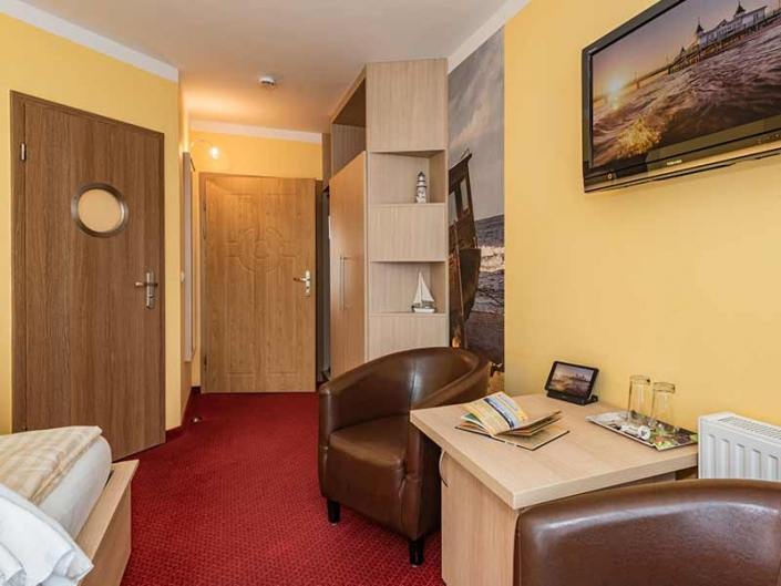 Hotel Strandhus Herrgott Wohnbereich Hotelzimmer
